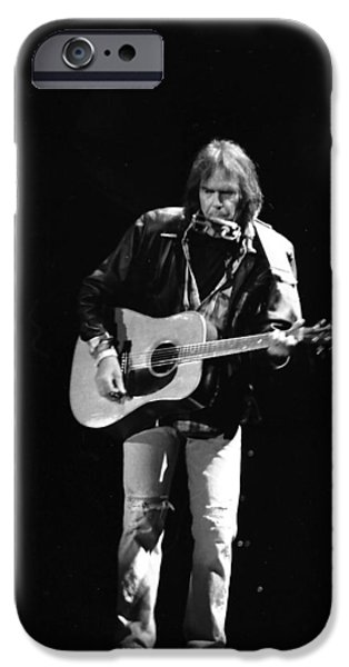 Neil Young IPhone 6s Case by Wayne Doyle