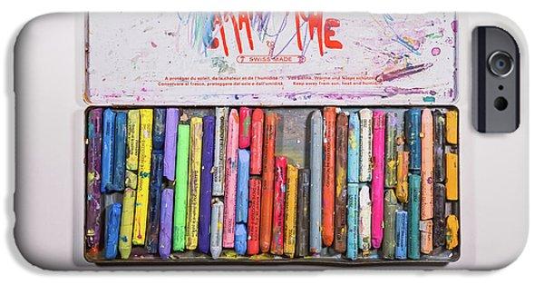 Color Pencil iPhone 6s Case - Neocolor II by Scott Norris