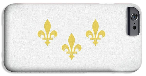 IPhone 6s Case featuring the digital art New Orleans City Flag by JC Findley