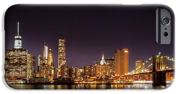 New York City Lights At Night IPhone 6s Case by Az Jackson