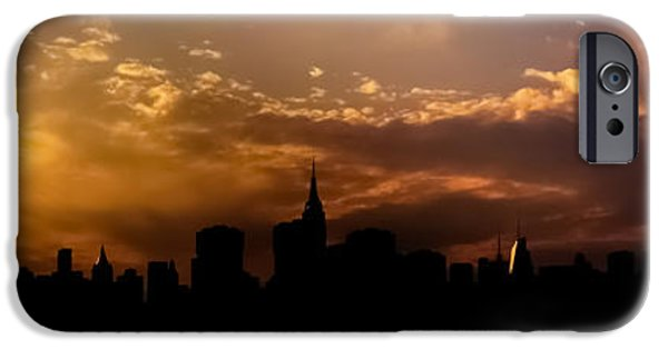 New York City Skyline At Sunset Panorama IPhone 6s Case