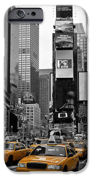 City Scenes iPhone 6s Case - New York City Times Square  by Melanie Viola