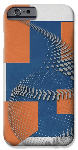 New York Mets iPhone 6s Case - New York Mets Art by Joe Hamilton