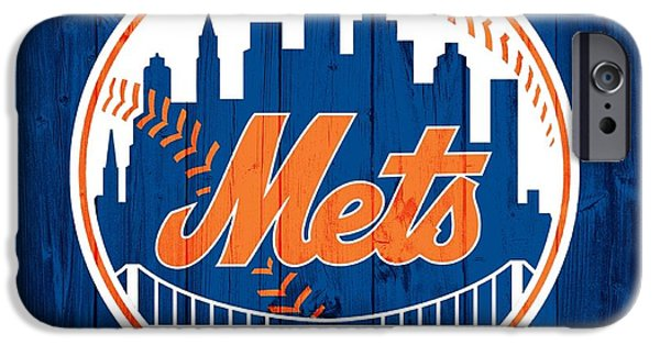 New York Mets iPhone 6s Case - New York Mets Barn Door by Dan Sproul