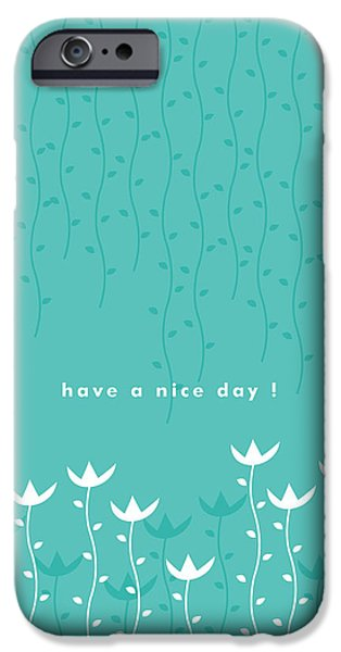 Flowers iPhone 6s Case - Nice Day by Kathleen Wong