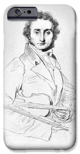 Violin iPhone 6s Case - Nicolo Paganini (1782-1840) by Granger