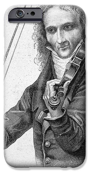 Violin iPhone 6s Case - Nicolo Paganini by Granger