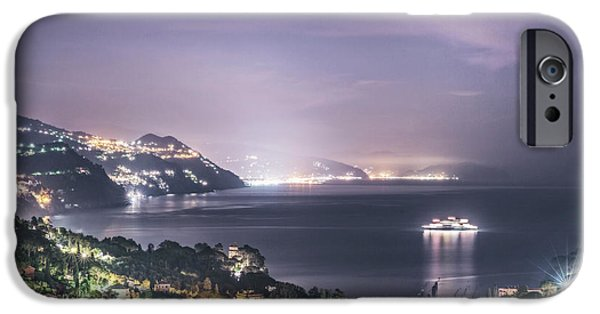 Cruise Ship iPhone 6s Case - Nights In The Harbor by Evelina Kremsdorf