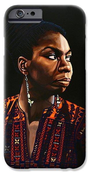 Nina Simone Painting IPhone 6s Case