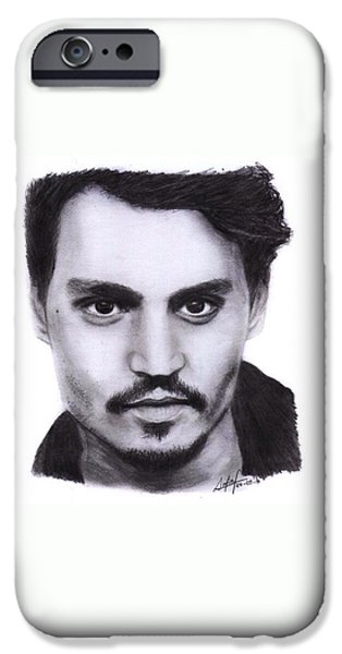 Johnny Depp Drawing By Sofia Furniel IPhone 6s Case
