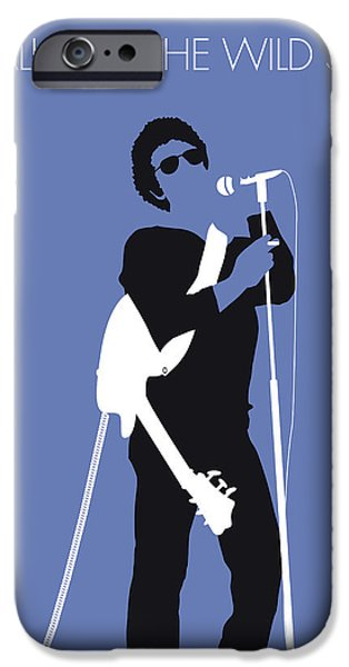 Fairy iPhone 6s Case - No068 My Lou Reed Minimal Music Poster by Chungkong Art