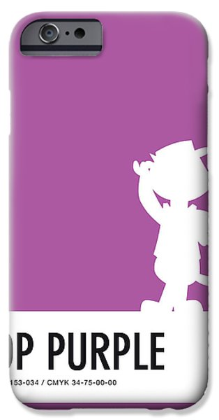 Pig iPhone 6s Case - No11 My Minimal Color Code Poster Top Cat by Chungkong Art