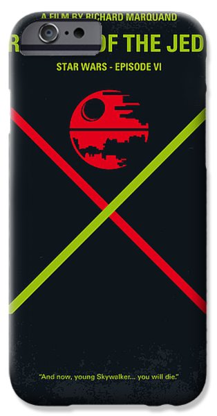 Simple iPhone 6s Case - No156 My Star Wars Episode Vi Return Of The Jedi Minimal Movie Poster by Chungkong Art