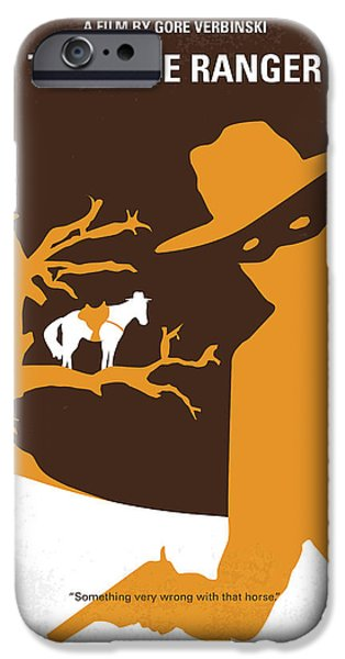 No202 My The Lone Ranger Minimal Movie Poster IPhone 6s Case by Chungkong Art