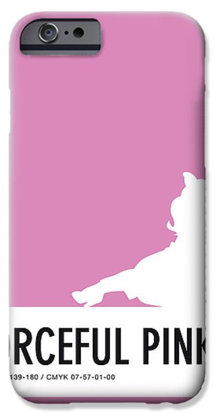 Amphibians iPhone 6s Case - No26 My Minimal Color Code Poster Piggy  by Chungkong Art