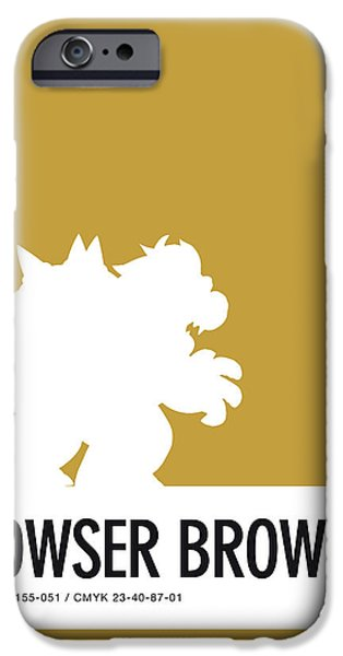 Daisy iPhone 6s Case - No38 My Minimal Color Code Poster Bowser by Chungkong Art