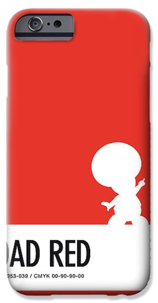 Daisy iPhone 6s Case - No41 My Minimal Color Code Poster Toad by Chungkong Art