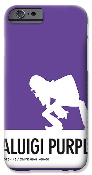 Daisy iPhone 6s Case - No42 My Minimal Color Code Poster Waluigi by Chungkong Art