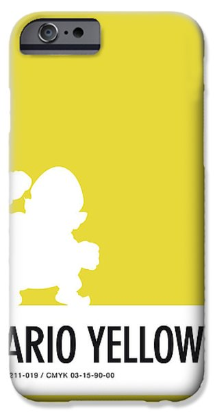 Daisy iPhone 6s Case - No43 My Minimal Color Code Poster Wario by Chungkong Art