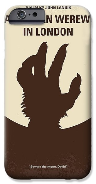 No593 My American Werewolf In London Minimal Movie Poster IPhone 6s Case