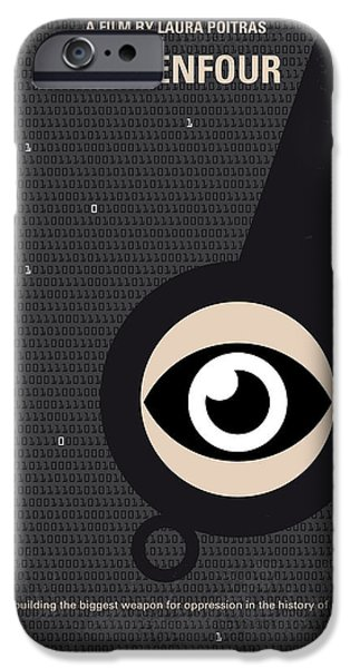 No598 My Citizenfour Minimal Movie Poster IPhone 6s Case by Chungkong Art