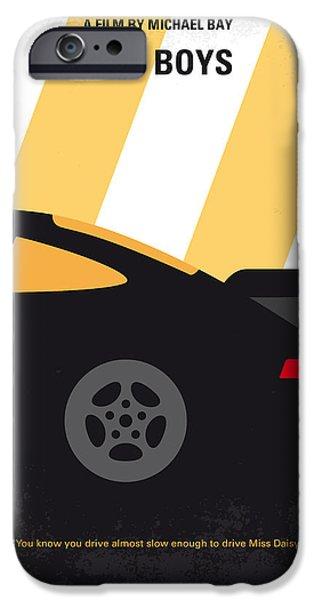 No627 My Bad Boys Minimal Movie Poster IPhone 6s Case