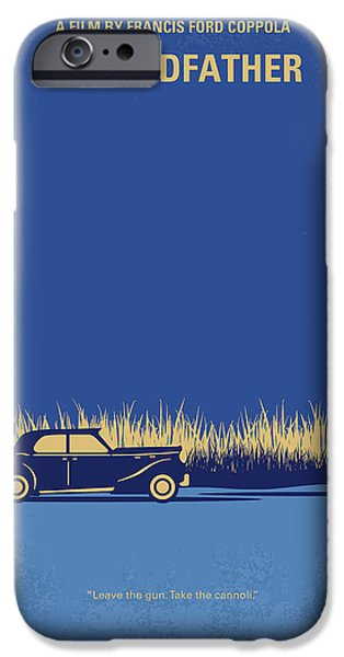 Simple iPhone 6s Case - No686-1 My Godfather I Minimal Movie Poster by Chungkong Art