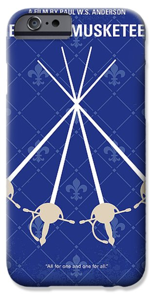 Cardinal iPhone 6s Case - No724 My The Three Musketeers Minimal Movie Poster by Chungkong Art