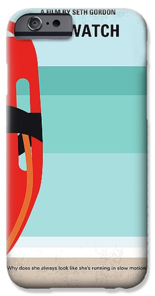Swimming iPhone 6s Case - No730 My Baywatch Minimal Movie Poster by Chungkong Art