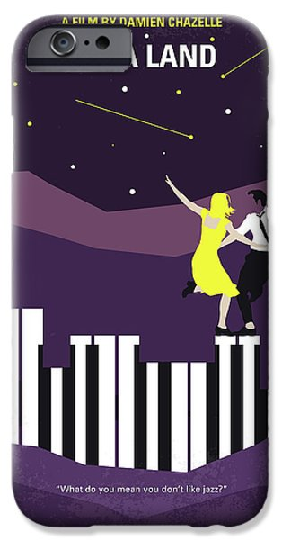 Jazz iPhone 6s Case - No756 My La La Land Minimal Movie Poster by Chungkong Art