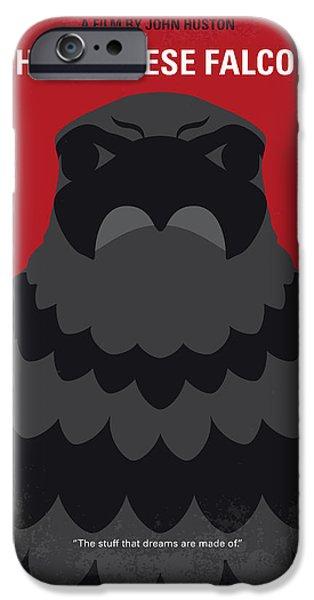 Falcon iPhone 6s Case - No780 My The Maltese Falcon Minimal Movie Poster by Chungkong Art