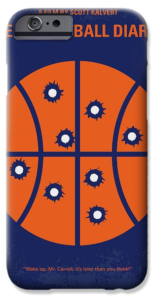 Basketball iPhone 6s Case - No782 My The Basketball Diaries Minimal Movie Poster by Chungkong Art