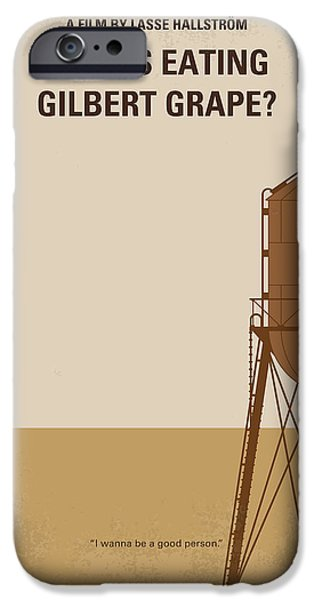 No795 My Whats Eating Gilbert Grape Minimal Movie Poster IPhone 6s Case by Chungkong Art