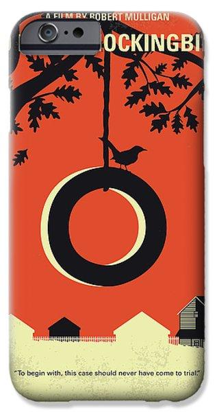 Mockingbird iPhone 6s Case - No844 My To Kill A Mockingbird Minimal Movie Poster by Chungkong Art