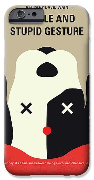 Harvard iPhone 6s Case - No893 My A Futile And Stupid Gesture Minimal Movie Poster by Chungkong Art