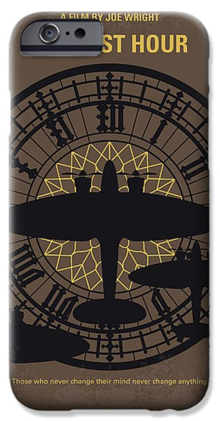 Big Ben iPhone 6s Case - No901 My Darkest Hour Minimal Movie Poster by Chungkong Art