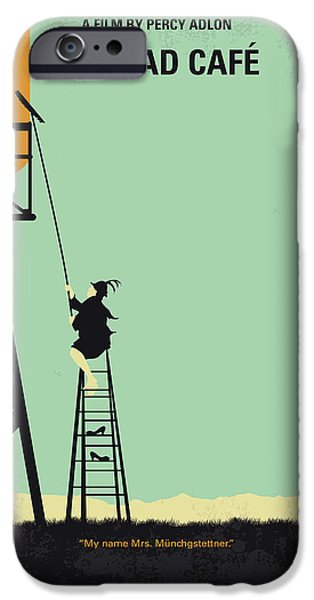 Magician iPhone 6s Case - No964 My Bagdad Cafe Minimal Movie Poster by Chungkong Art