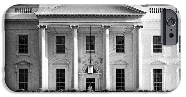 Whitehouse iPhone 6s Case - north facade from pennsylvania avenue the white house Washington DC USA by Joe Fox