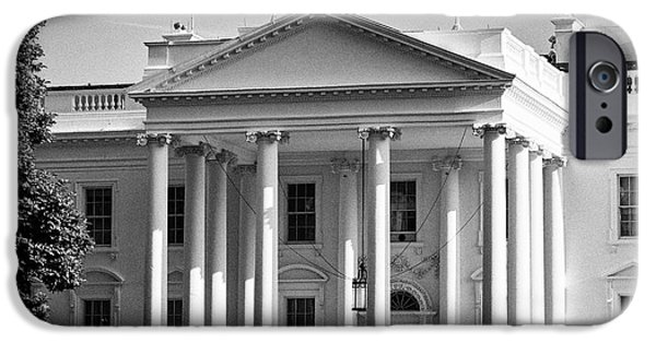 north facade of the White House Washington DC USA IPhone 6s Case by Joe Fox