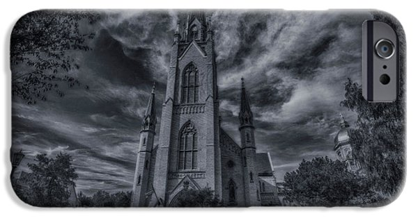 Notre Dame University Church IPhone 6s Case by David Haskett