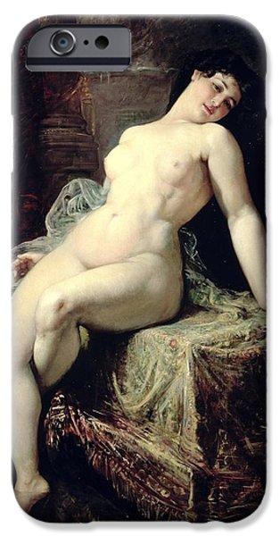 Nude IPhone Case by Ramon Marti Alsina