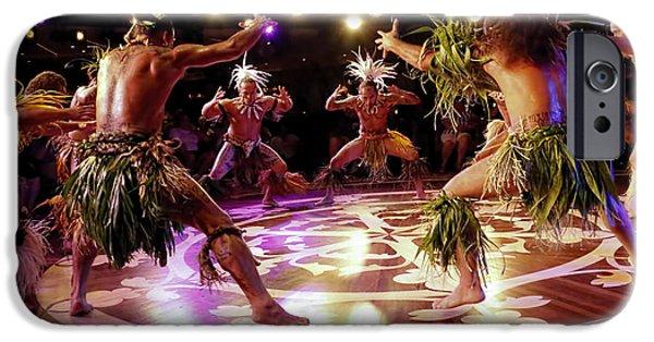 Cruise Ship iPhone 6s Case - Nuku Hiva Dancers by David Smith