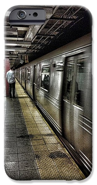 Nyc Subway IPhone 6s Case by Martin Newman
