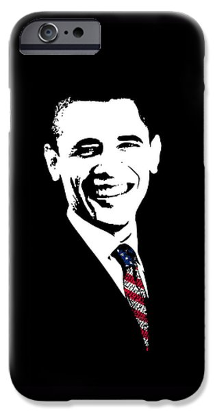 Barack Obama iPhone 6s Case - Obama Graphic by War Is Hell Store