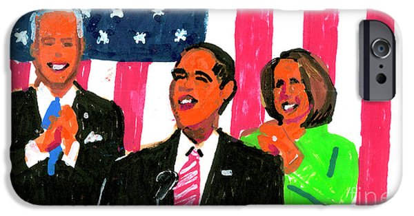 Joe Biden iPhone 6s Case - Obama's State Of The Union '10 by Candace Lovely