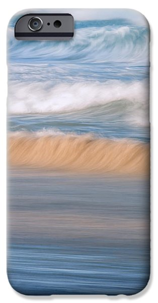 Teal iPhone 6s Case - Ocean Caress by Az Jackson
