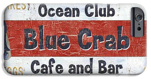 Ocean Club Cafe IPhone 6s Case by Debbie DeWitt