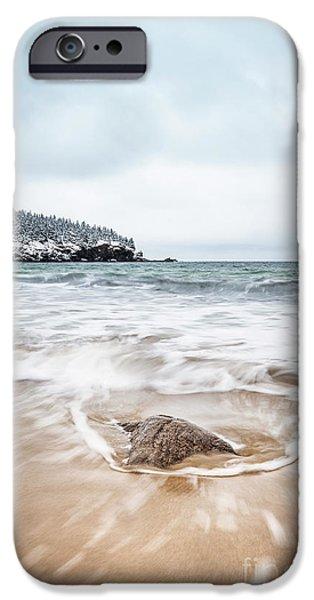 New England Coast iPhone 6s Case - Ocean Flows by Evelina Kremsdorf
