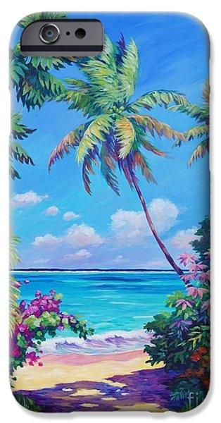 Ocean View With Breadfruit Tree IPhone 6s Case by John Clark