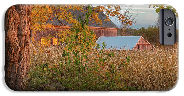 IPhone 6s Case featuring the photograph October Morning 2016 Square by Bill Wakeley